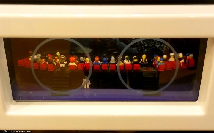 Une scène imaginéeen l'honneur de Lego : La Grande Aventure Le Film.
