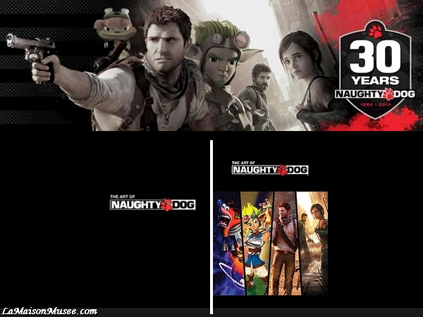 Artbook Naughty Dog Studios