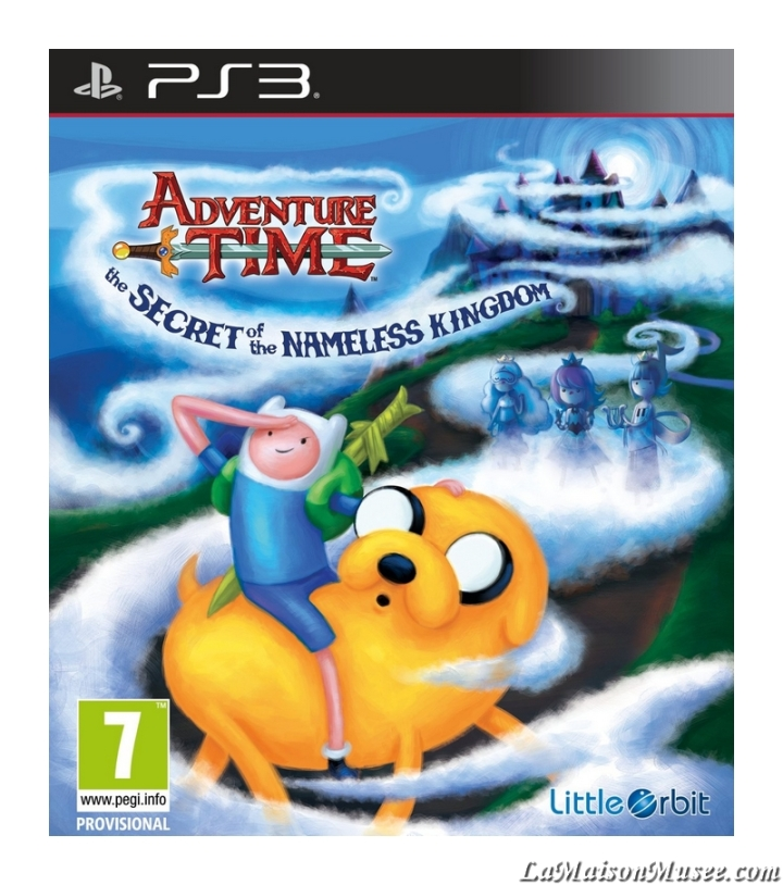 Adventure Time Jaquette Jeu PS3