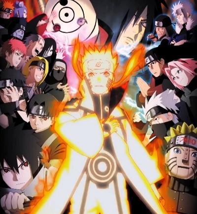 Art Naruto Ultimate Ninja Revolution