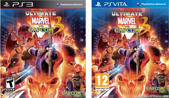 PAL Ultimate Marvel Vs Capcom 3