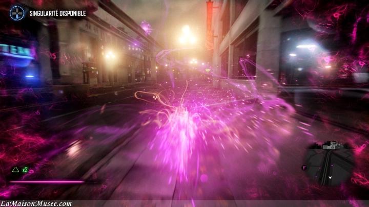 Mode Capture PS4 inFamous