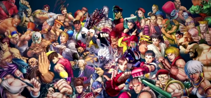 Nombre Personnages Ultra Street Fighter 4