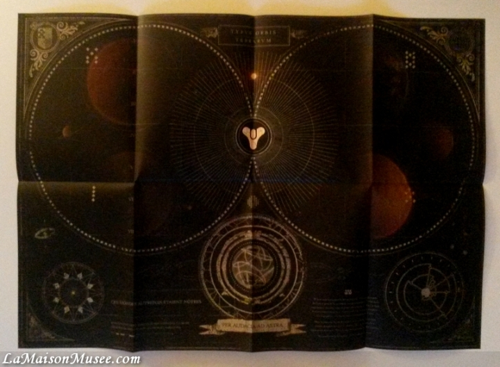 Destiny Carte Monde Collector