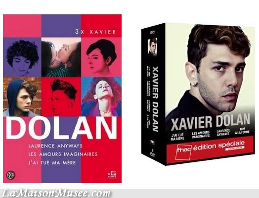 Coffret Film Xavier Dolan Contenu