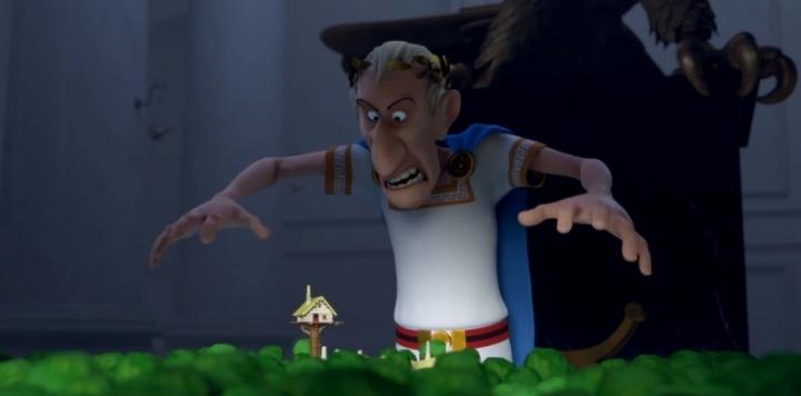 Cesar Asterix Domaine des Dieux Personnage