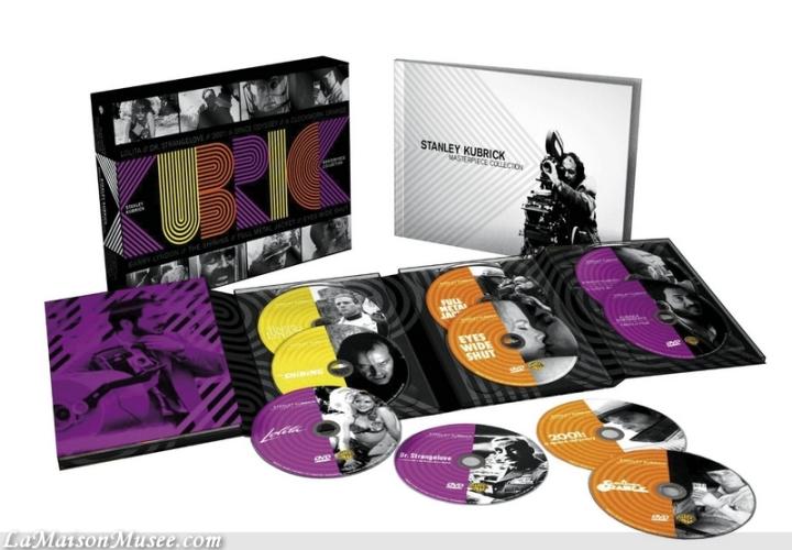Contenu Stanley Kubrick Collection Limitee