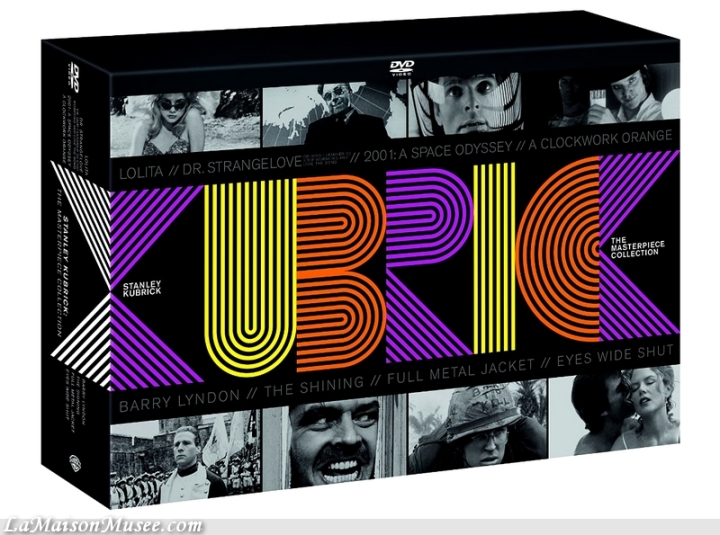 Stanley Kubrick Tous les Films Coffret