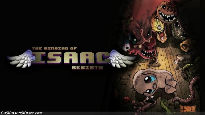 Logo Binding of Isaac PS4 PSVita