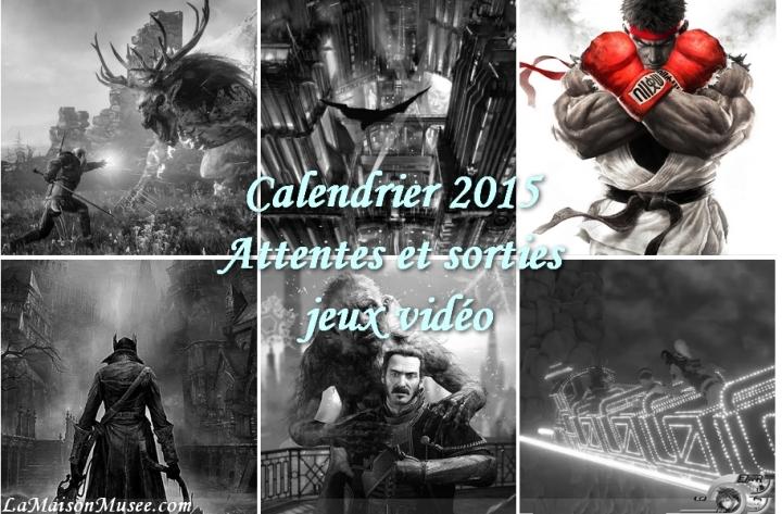 2015 Sorties Jeux Video