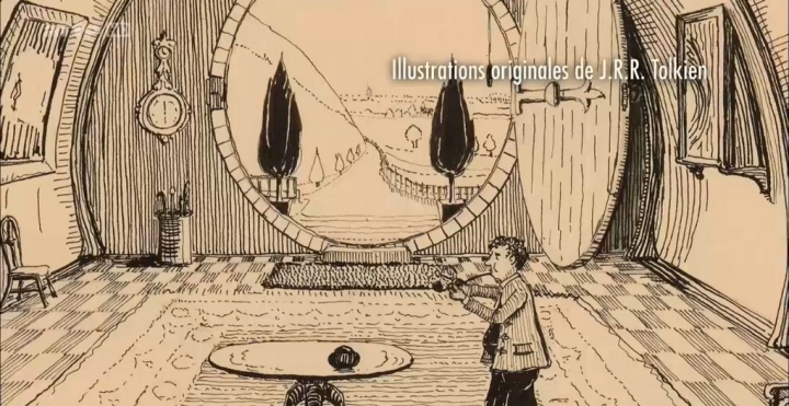 Idees Illustrations Tolkien Manuscrits