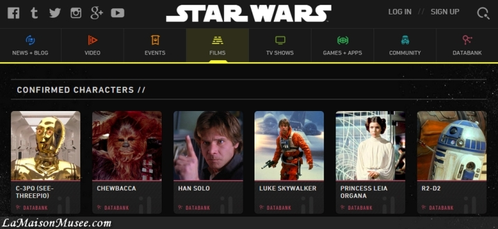 Liste Acteurs Star Wars 7