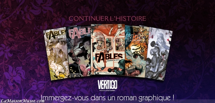 Promotion Wolf Among Us Fables