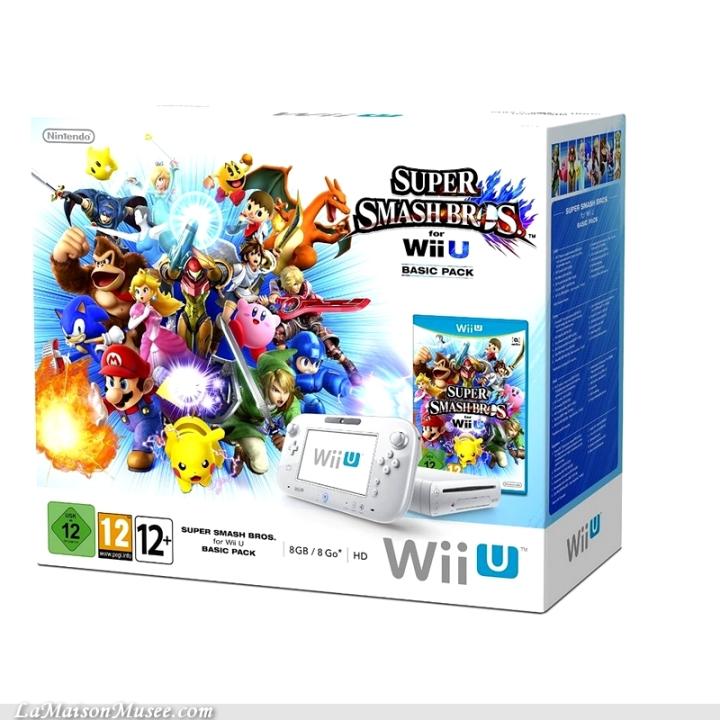 Wii U Limited Edition Smash Bros