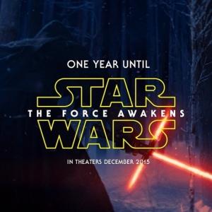 Affiche temporaire Star Wars 7