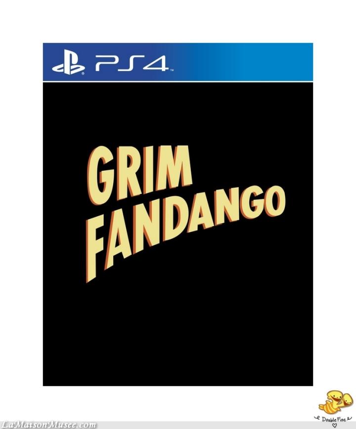 Version physique Grim Fandango 2015