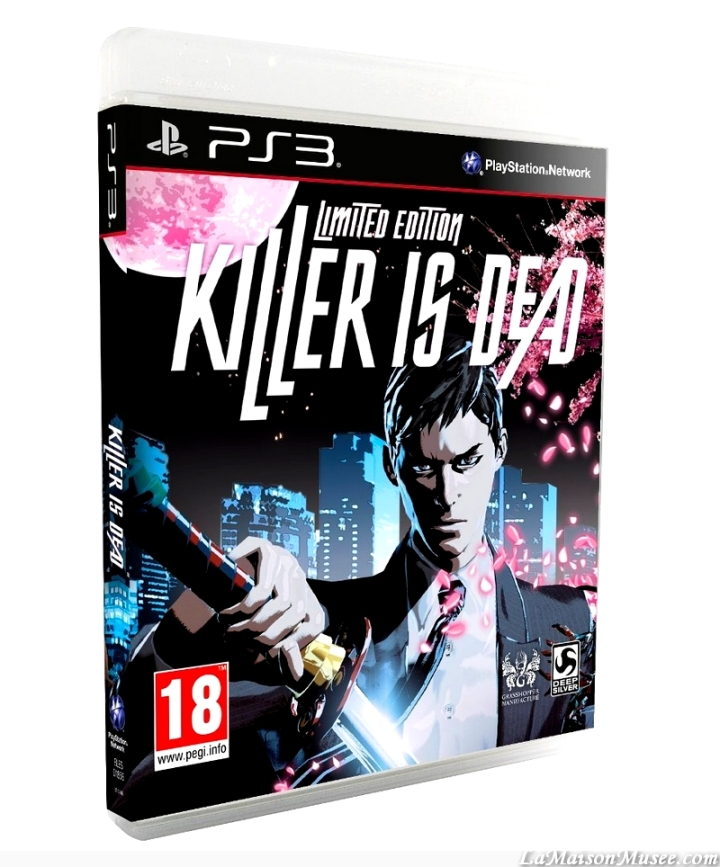 Contenu Limited Edition Killer Is Dead