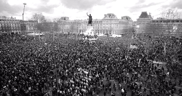 Marche Charlie Hebdo Photos Histoire