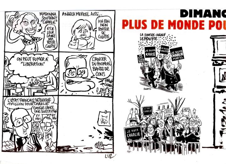 Charlie Hebdo Bilan Marche
