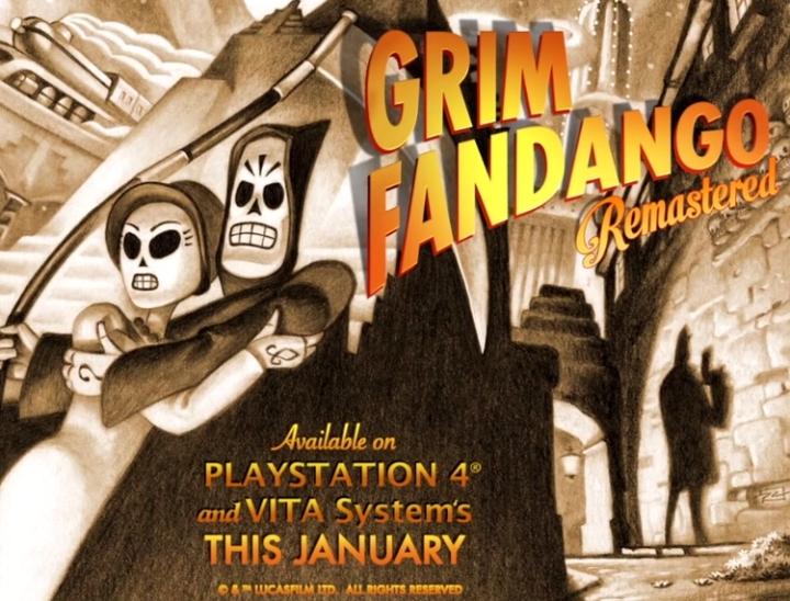 Taille Grim Fandango Vita
