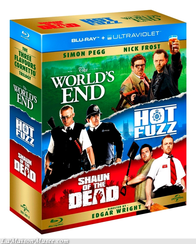 Edgar Wright Blu-Ray Film
