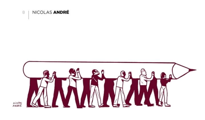 Nicolas André Charlie Hebdo