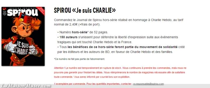 Exemplaires Je suis Charlie