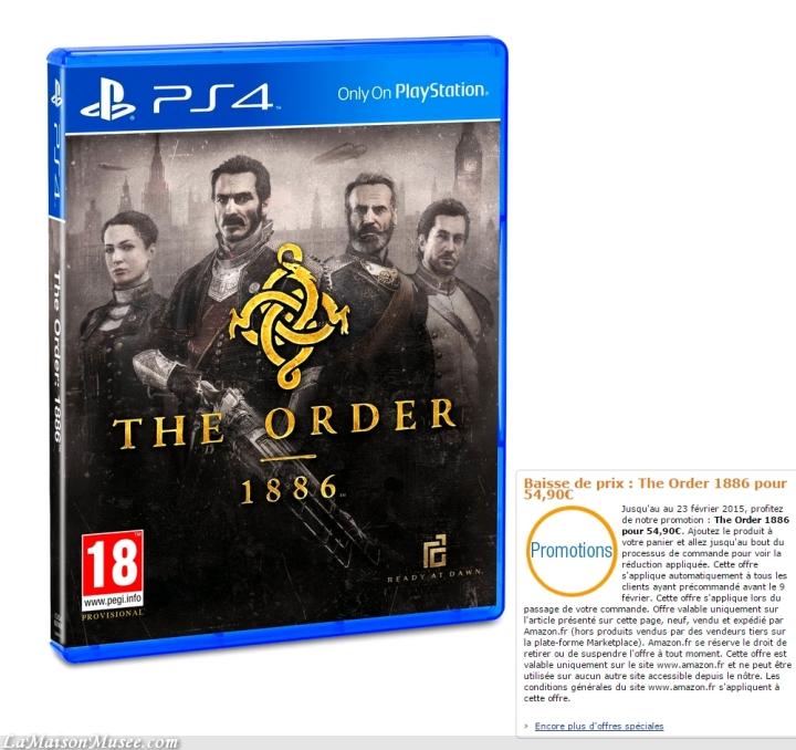 Bon Plan The Order 1886
