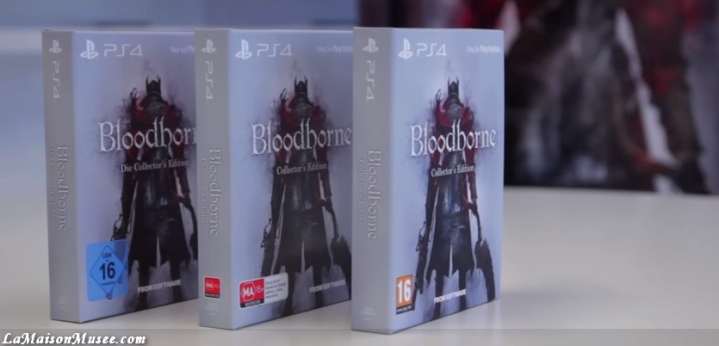 Steelbook Bloodborne PlayStation 4