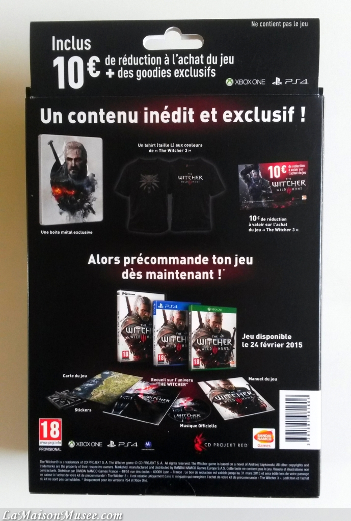 Goodies Collection The Witcher 3
