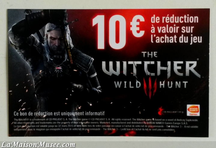 Bon plan The Witcher 3
