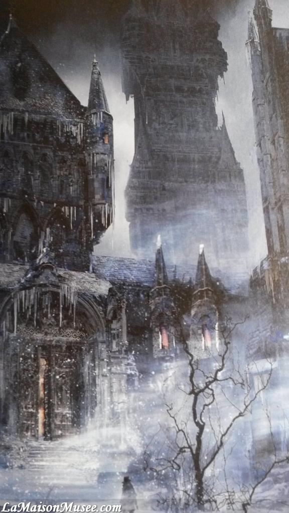 Art of Bloodborne City