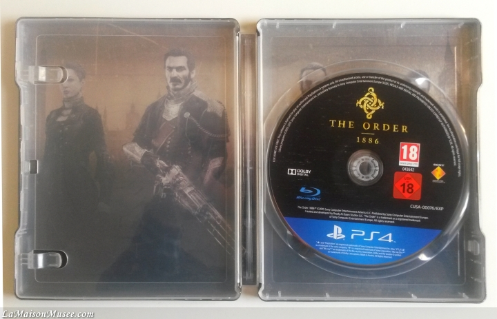 Artwork The Order 1886 Steelbook