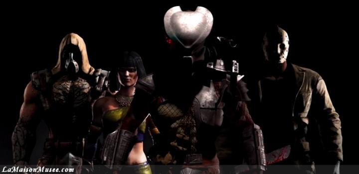 Personnages Supplémentaires Mortal Kombat 10