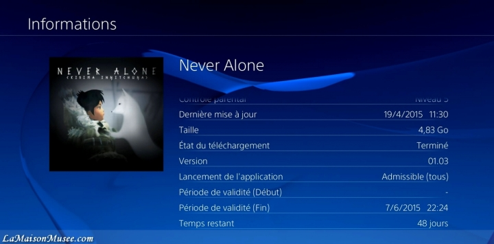 GO Never Alone PlayStation