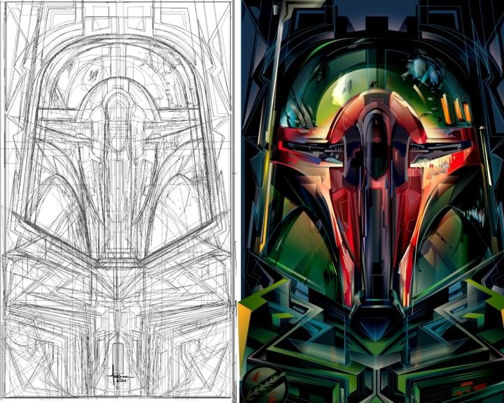 Star Wars Design Poster Mexifunk