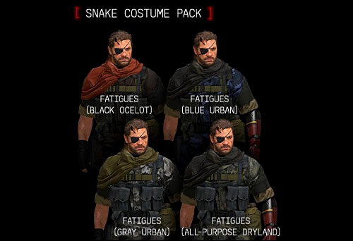 DLC MGS 5 Phantom Pain