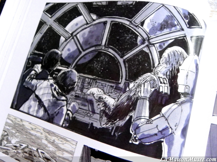 Dessins vaisseaux Star Wars Trilogie originale