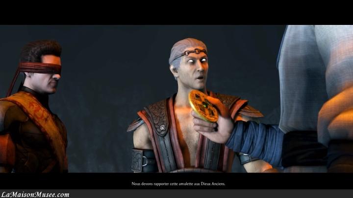 Personnages DLC Histoire Mortal Kombat