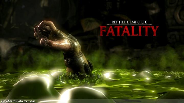 Fatality Reptile Mortal Kombat PS4