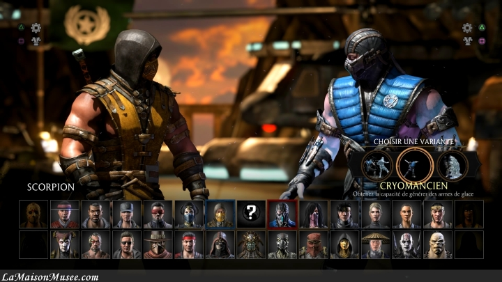 Casting Mortal Kombat X