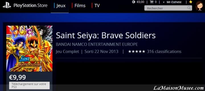 Saint Seiya Brave Soldiers Blog