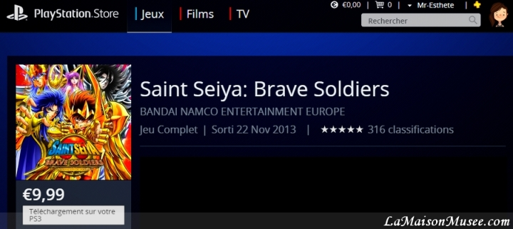 Saint Seiya Brave Soldiers Blog