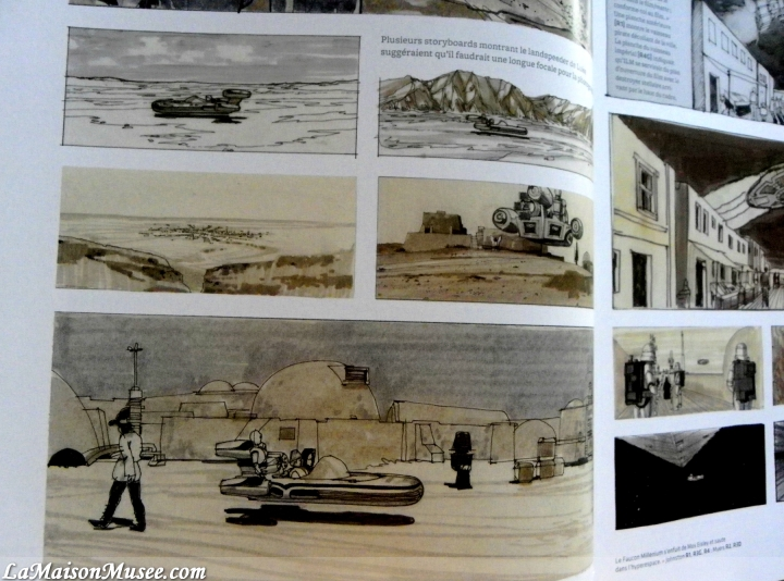 Story Boards Star Wars Archives