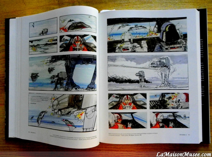 Planete Hoth Storyboards Star Wars