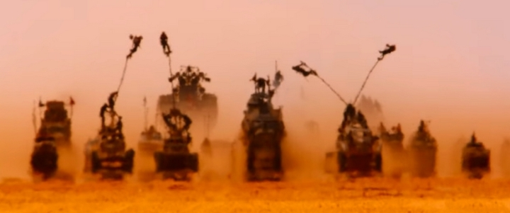 Nombre de jours Mad Max Fury Road