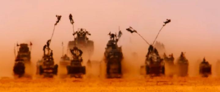 Nombre de jours Mad Max Fury Road