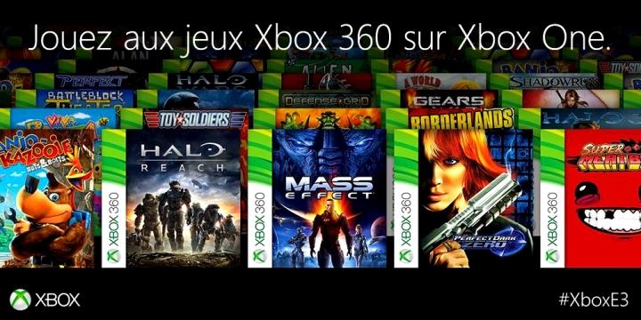 Jeux Retrocompatibles Xbox 360 Xbox One
