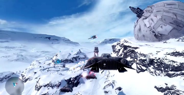 Bataille Hoth Battlefront PS4