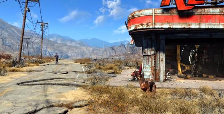 Fond d ecran Fallout 4